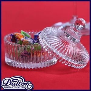 <商品説明> サーカステントみたいなデザインが可愛いガラスキャニスター。食卓でキャンディーやお砂糖な...