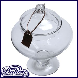 DULTON ダルトン ガラスジャー スーリール 保存容器 保存瓶 ガラス容器 調味料入れ グラスジャー キャニスター ガラス瓶 アンティーク調 広口瓶 入れ物 フタ付|ys-prism