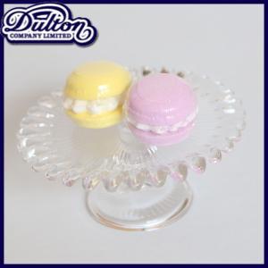 DULTON ダルトン ケーキスタンド ケーキプレート ケーキディッシュ ケーキ皿 ケーキ台 ガラス皿 デザートプレート パーティー用 おしゃれ|ys-prism