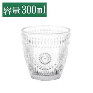 DULTON ダルトン ガラスコップ マーガレット グラス ガラスコップ タンブラー 模様 柄 アイスティー アイスコーヒー ジュース 麦茶 冷茶 ビール 300ml おしゃれ|ys-prism