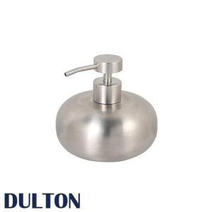 『ステンレス スチール ソープ ディスペンサー』  ディスペンサー ボトル おしゃれ ダルトン DULTON ハンドソープ 450ml 丸型 円形 洗剤 洗面所 バスルーム 浴室|ys-prism