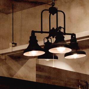 ペンダントライト シャンデリア ラスティフォーカップライト 照明 間接照明 アンティーク レトロ リビング ダイニング カフェ おしゃれ かわいい 4灯|ys-prism