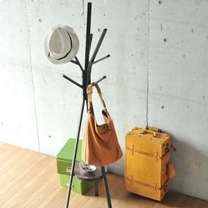 ノルディック コートハンガー ポールハンガー 洋服ハンガー 帽子ハンガー 洋服掛け 北欧 木製調 アイアンスチール ブランチ おしゃれ デザイン|ys-prism
