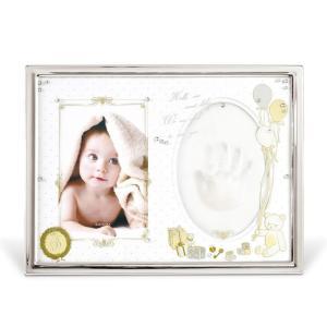 ベビーフレーム 写真立て 出産祝い ベビーフォトフレーム ベビーフォトスタンド 赤ちゃん 手型 ギフト  ys-prism