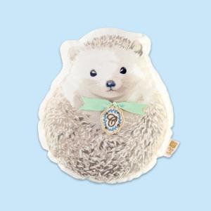 『ハグミーアニマル クッション/Hedgehog』 クッション ソファクッション おしゃれ かわいい 可愛い 北欧 動物 はりねずみ ハリネズミ 圧縮パック 贈り物
