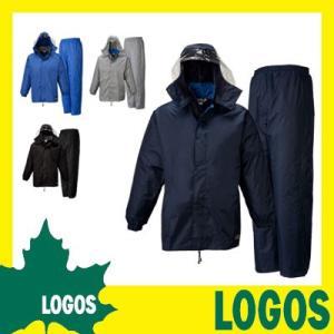レインウェア レインスーツ レインウエア レインコート 雨合羽 カッパ 防水 パンツ ズボン メンズ 上下セット 軽量 軽い おしゃれ 大きいサイズ ロゴス LOGOS|ys-prism