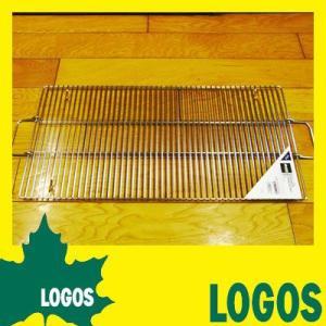 バーベキュー網 ロゴス LOGOS 極太ステンレス焼網L 網 焼き網 焼網 ステンレス網 ステンレス 太い 極太 手間いらず すぐ使える お掃除 掃除|ys-prism