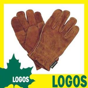 耐熱グローブ ロゴス LOGOS BBQ耐熱レザーグローブ 手袋 革手袋 皮手袋 ミトン 鍋つかみ 耐熱 牛革 皮 安全 ファイヤーマン バーベーキュー|ys-prism