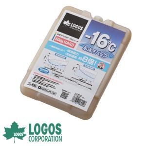 保冷剤 ロゴス LOGOS 氷点下パックGT-16℃・ハード600g 保冷剤 保冷材 保冷パック 蓄冷剤 蓄冷材 アイスパック 強力 長時間 氷点下 ジェル|ys-prism