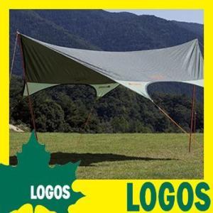 タープテント ロゴス LOGOS neos ドームFITヘキサ タープ サンシェード 日除け 日よけ 簡単 耐風 ケース付き レジャー キャンプ アウトドア 紫外線対策 送料無料 ys-prism
