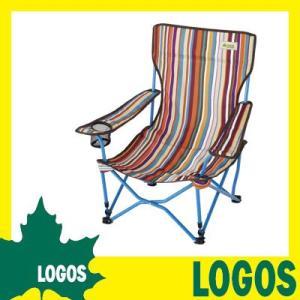 折りたたみ椅子 ロゴス LOGOS ストライプヒーリングチェアー・ポケットプラス イス 椅子 折り畳み椅子 折りたたみチェアー レジャーチェアー コンパクト ys-prism
