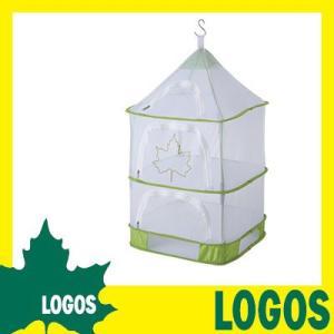 ドライネット ロゴス LOGOS スタンディングドライネット ネット ハンギング網 置ける 吊るせる 自立 コンパクト 乾燥 乾かす 食器乾燥 食品乾燥|ys-prism