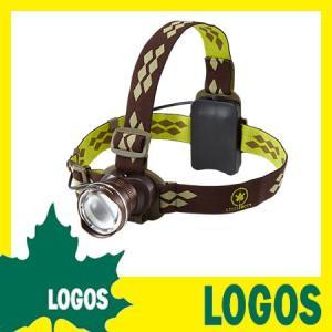 ヘッドビーム ロゴス LOGOS 防雨 メタルウルトラヘッドビーム400 ヘッドライト ヘッドランプ LEDヘッドライト キャンプ用品 アウトドア用品 防災グッズ|ys-prism