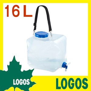 ウォータータンク ロゴス LOGOS 抗菌広口水コン16 ウ...