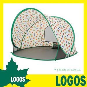 ロゴス LOGOS はらぺこあおむし ポップアップシェード サンシェード テント ビーチテント 日除け 日よけ 紫外線対策 ワンタッチ コンパクト 1人用 送料無料|ys-prism