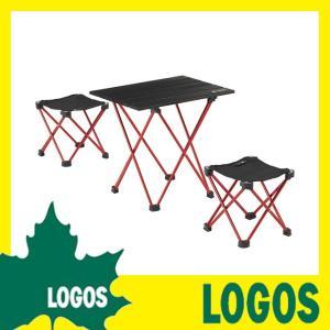 ロゴス LOGOS トレックテーブルチェアコンボ テーブルセ...