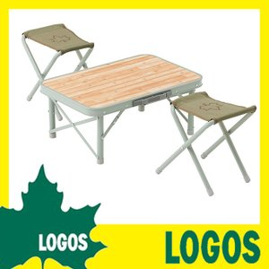 ロゴス LOGOS Life スツールローテーブルセット2 テーブルセット 2人用テーブルセット キャンプ アウトドア バーベキュー シンプル おしゃれ おすすめ 人気 ys-prism