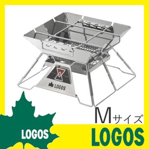 ロゴス LOGOS the ピラミッドTAKIBI M バーベキューグリル バーベキューコンロ BBQコンロ アウトドア キャンプ イベント 庭 ガーデン コンパクト収納|ys-prism