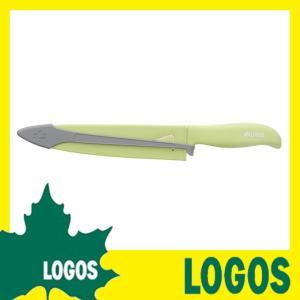 ロゴス LOGOS 安全・サヤつき包丁 包丁 ステンレス包丁 小型包丁 さや付き包丁 サヤ付き包丁 ステンレス製 キャンプ アウトドア バーベキュー BBQ シンプル|ys-prism