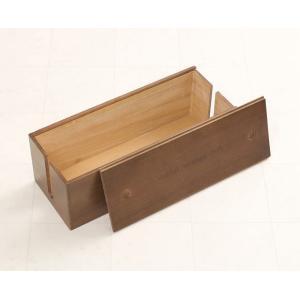 桐ケーブルボックス ブラウン色 レギュラーサイズ コードケース 収納 電源ケーブルボックス 木製 電...