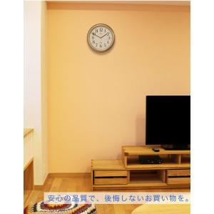 コスパ抜群!信頼のブランド SEIKO 電波時計 シルバー 掛け時計 掛時計 壁掛け時計 おしゃれ セイコー シンプル 見やすい 人気 安い|ys-prism|06