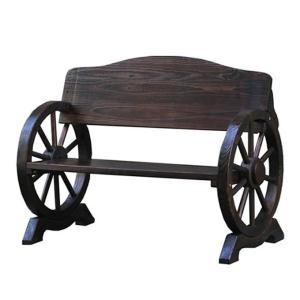 車輪ベンチ 1100 ガーデンベンチ ベンチ 長椅子 長イス ベンチチェア ガーデンチェア ガーデンチェアー 木製ベンチ 木製 車輪 屋外 ガーデン おしゃれ ys-prism