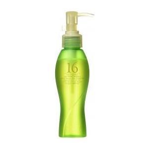 十六種類の天然オイル配合。 外部刺激から毛髪をブロックし、タンパク質や水分を保持させる働きを持つヒー...