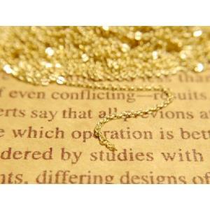 あずきチェーン 約5mx1本 約1.3mm ゴールド 小判チェーン 副資材 基本金具 手作り雑貨 アクセサリー パーツ 手芸材料 素材 金属 小物