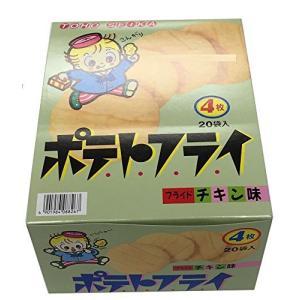 TOHO 東豊製菓 ポテトフライ フライドチキン味 4枚入(11g) 1ボール(20個入) yschoice