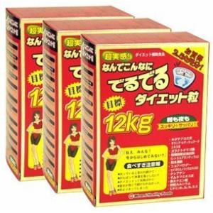 ミナミヘルシーフーズ 超実感 でるでる粒 75袋入 約75日分【3箱セット】|yschoice