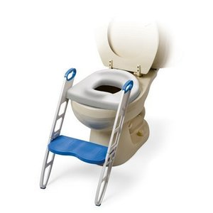 MOMMY'S HELPER トイレトレーニング 補助便座 ステップ付 (折りたたみ式) BCMH11148 yschoice