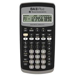 Texas Instruments BA II Plus Financial Calculator [輸入品]|yschoice