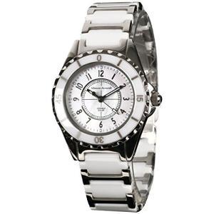 [マウロジェラルディ] 腕時計 ソーラー セラミック MJ042-2 ホワイト yschoice