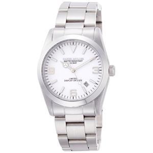 [ダニエル・ミューラー]DANIEL MULLER 腕時計 オールステンレス シンプル 日付表示 DM-2035WH ホワイト yschoice