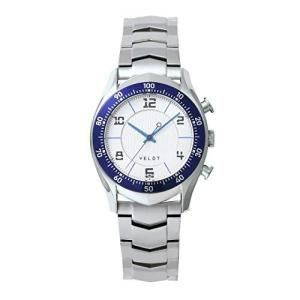 [ヴェルト] 腕時計 LUXTURE モデルIG ハイブリッドスマートウォッチ アナログクォーツ - ステンレススチール ブルー yschoice