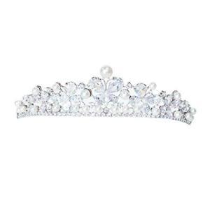 ティアラ 結婚式 ウエディング 披露宴 ブライダル tiara 花嫁 髪飾り ft8211plsr yschoice