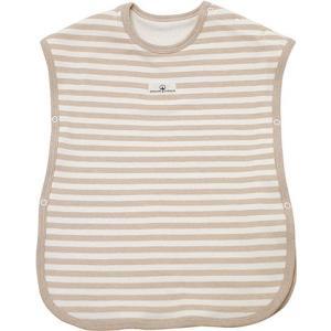 オーガニックコットン スリーパー ボーダー /ORGANIC GARDEN (ベビー 赤ちゃん かいまき 寝具  カジュアル コーデ 着る毛布)|yshopharmo