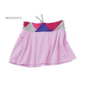 レディス アシックス XTL839 W'Sランニングスカート