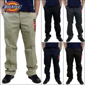 【商品説明】 Dickiesの874ワークパンツです。 履きこんでいくうちに体に馴染み履き心地抜群に...