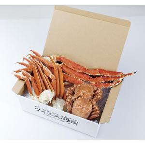 北海道かに三昧デラックス 送料無料【かに カニ 蟹】|yskaisyoh311