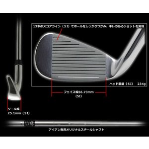WORLD EAGLE(ワールドイーグル) 5Z メンズ ゴルフ クラブ フルセット ブラック 右用...