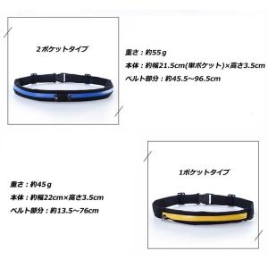 2個セット ランニングポーチ ボトルポーチ ウエストポーチ 揺れにくい 防水 メッシュ スポーツ ウォーキング ジョギング スマホ ツーリング バッグ 伸縮  iphone|ysmya|20