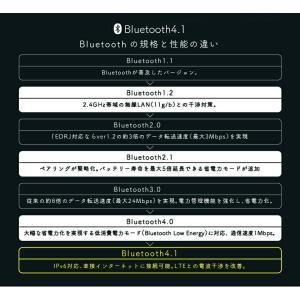 ブルートゥースイヤホン Bluetooth 4.2 ワイヤレス イヤホン 技適認証済み iPhone イヤホン ブルートゥース イヤフォン イヤホンマイク 両耳 高音質 重低音|ysmya|11