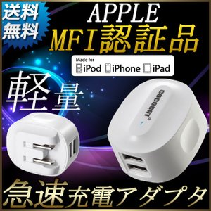 usb 充電器 急速 usb 充電 2ポート 2.4a iphone6s 充電器 iPhone6s iPhone6s plus iPhone5S iPad Android 対応 出力自動判別