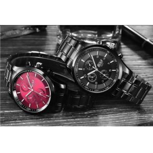 腕時計 メンズ メンズ腕時計 おしゃれ 男性用 ブラック ベルト 時計 安い 腕時計 見やすい|ysmya|09