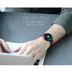スマートウォッチ 日本正規代理店 日本語対応 iPhone アンドロイド 心拍 血圧 歩数計 万歩計 睡眠 防水 line 着信 通知 スマホ探し|ysmya|11