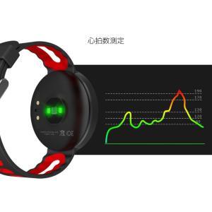 スマートウォッチ 日本正規代理店 日本語対応 iPhone アンドロイド 心拍 血圧 歩数計 万歩計 睡眠 防水 line 着信 通知 スマホ探し|ysmya|10