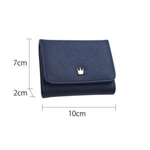 財布 2つ折り財布 レディース 二つ折り ミニ...の詳細画像4