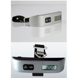 ラゲッジチェッカー デジタルスケール 携帯式 はかり 50kg デジタル 計量器 吊り下げ式 旅行 釣り ysmya 06