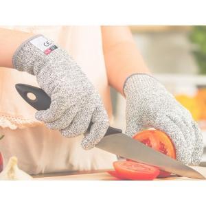 防刃 手袋 左右 セット 切れない 軍手 耐刃 防刃グローブ 作業用 DIY 大工 安全 刃物 調理 BBQ S|ysmya|05